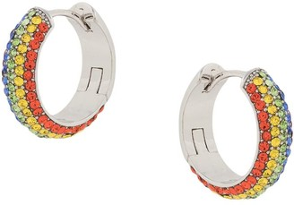 Kate Spade Candy Drops Pave Huggie Earrings
