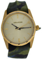 Zadig & Voltaire ZVF204 Gold/Green Multicolor Cloth Bracelet Watch 1 Pc Watches