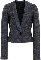 Derek Lam Silk Cotton Tweed Blend Jacket