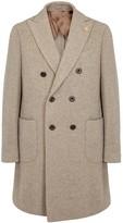Lardini Stone Wool Blend Coat