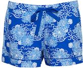 Cyberjammies Maya Floral Print Shorts, Blue