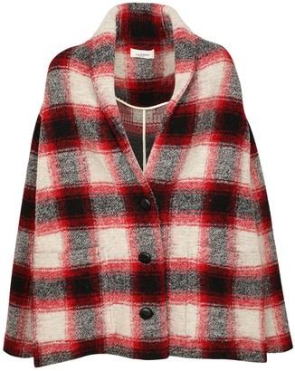 Etoile Isabel Marant Elomia Wool Blend Coat