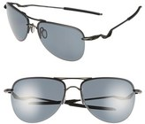 Oakley Men's 'Tailpin(TM)' 61Mm Polarized Aviator Sunglasses - Black