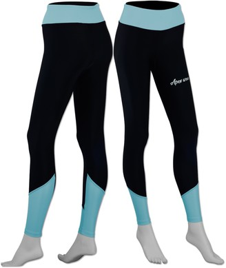 Apex Wear Women Super Thermal Base Layer Compression Leggings Fitness Running Tights Gym Pants (Sky Blue X-Large)