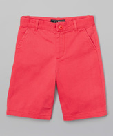 E-Land Kids Sugar Coral Twill Chino Shorts - Toddler & Boys