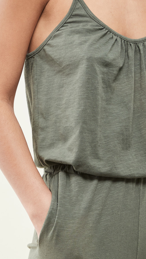 Thumbnail for your product : Sundry Spaghetti Strap Jumpsuit