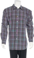 Robert Graham Plaid Woven Shirt