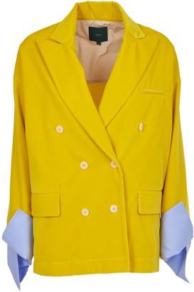 Jejia Yellow Oversize Jacket