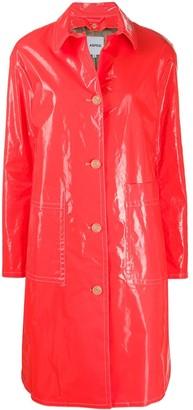 Aspesi Gele'e single-breasted raincoat
