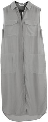 Alexander Wang Grey Silk Dress for Women