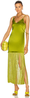 KENDRA DUPLANTIER Blanka Dress in Green | FWRD