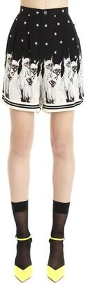 Undercover Cat Print Shorts