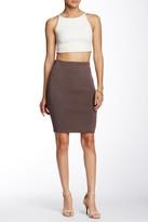 Blvd Pencil Midi Skirt