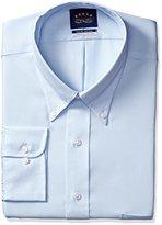Eagle Men's Tall Size Non Iron Flex Collar Solid Buttondown Collar Dress Shirt