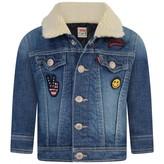 Levi's Levis KidswearBaby Boys Blue Denim Clif Jacket