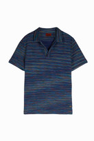 Missoni Textured-Stripe Polo Shirt
