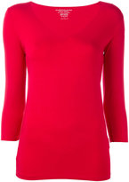 Majestic Filatures fitted top - women - Spandex/Elastane/Viscose - 1