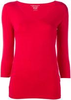 Majestic Filatures fitted top - women - Viscose/Spandex/Elastane - 1