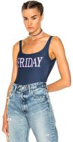 Alberta Ferretti Friday Swimsuit in Blue.