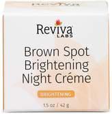 Reviva Brown Spot Skin Lightening Night Cream by 1oz Cream)