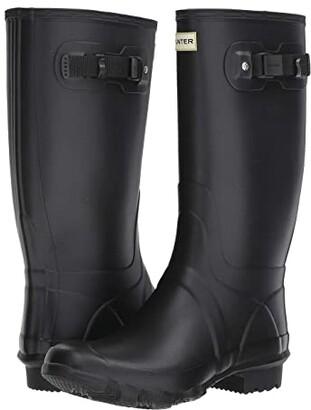 Hunter Huntress Field Boot (Black) Women's Rain Boots