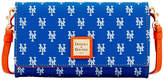 Dooney & Bourke New York Mets Daphne Crossbody Wallet