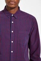 Forever 21 FOREVER 21+ Plaid Pocket Shirt