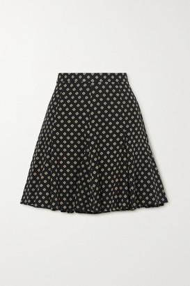 MICHAEL Michael Kors Printed Twill Mini Skirt