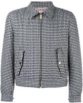 Thom Browne checked jacket - men - Cotton/Wool/Nylon/Feather Down - 3
