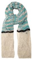 Missoni Striped pointelle-knit scarf