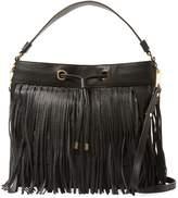 Milly Women's Astor Fringe Leather Hobo