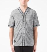 10.Deep Optic Marl Garment Supply Baseball Jersey