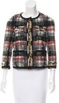 Louis Vuitton Embellished Woven Jacket