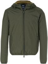 Armani Jeans hooded shell jacket