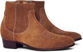 Hudson Winston Suede Boot Tan