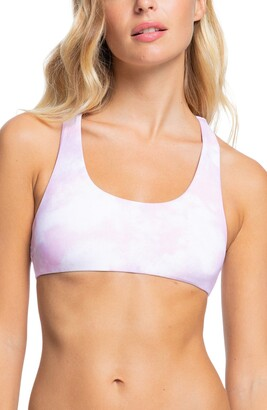 Roxy Sea n' Waves Reversible Athletic Bikini Top