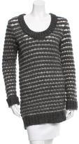 Rag & Bone Open Knit Scoop Neck Sweater