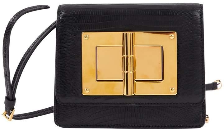 Tom Ford Natalia leather clutch bag