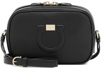 Salvatore Ferragamo City CC leather camera bag