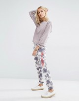 Billabong Joggers With Drawstring Waist And Palm Print