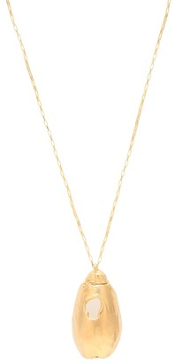 Alighieri The Unbearable Lightness 24kt gold-plated necklace