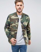 ONLY & SONS Bomber In Camo