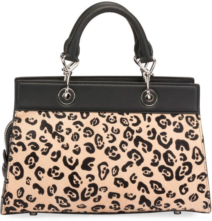 Altuzarra Shadow Small Leopard-Print Tote Bag