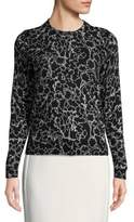 Lord & Taylor Petite Two Tone Floral Printed Cardigan
