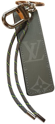 Louis Vuitton Monogram Grey Cloth Bag charms
