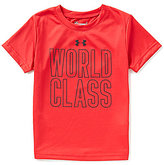 Under Armour Little Boys 4-7 World Class Short-Sleeve Tee