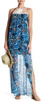 Ella Moss Tahiti Silk Halter Maxi Dress