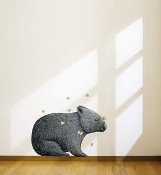 Mariposa Little Sticker Boy Wombat & By Renee Treml Wall Decal