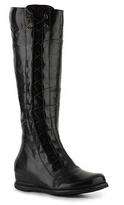 Crown Vintage Corset Wedge Boot