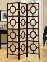 Monarch Specialties Frame 3-Panel Folding Screen